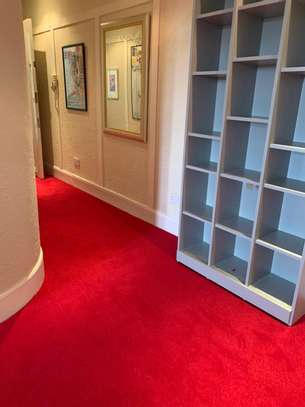 Crimson Red carpets for weddings and exhibitions image 1