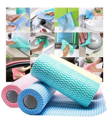 Re-usable paper towel roll mat image 1