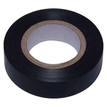 Insulation Tape, Black, 20mm x 19mm. image 1