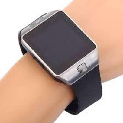 DZ09 Smart Watch Support SIM TF Card Electronics Wrist Watch Connect Android Smartphone DZ09 Smartwatch Black - Black image 1