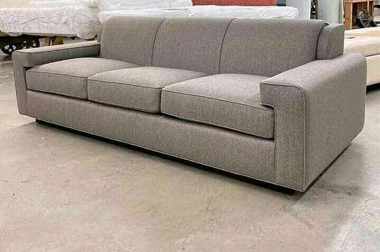 Box shaped sofa image 1