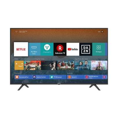 55A7100F Hisense 55 Inch 4K UHD Frameless Smart LED TV+2 Year Warranty +New sealed image 1