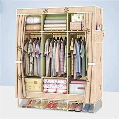 Heavy duty mettalic portable wardrobes image 3