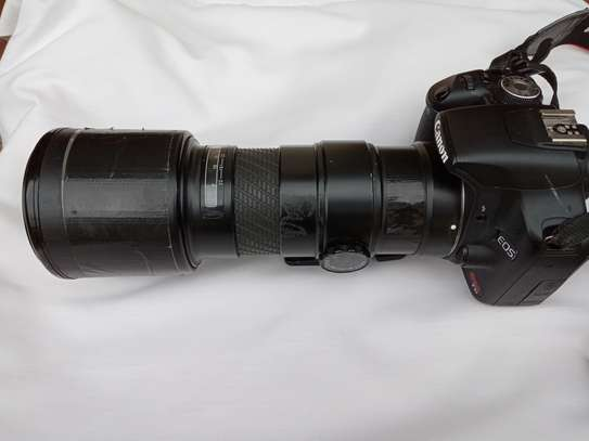 Canon camera EOS 500D / 400mm lens / low shutter count