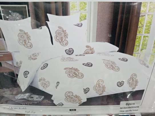 Cotton Flowery Bedsheets 5x6 image 1