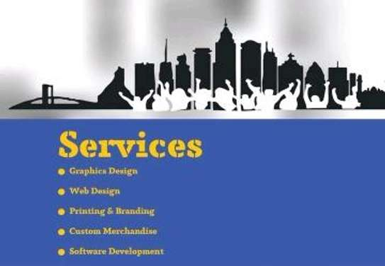 Graphics design and printing (Posters , Cards , fliers etc.) image 3