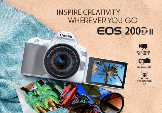 Canon EOS 200D 24.2MP 18-55mm Bluetooth NFC Wi-Fi image 1