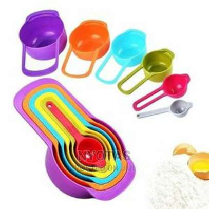 Measuring Cup and Spoons image 1