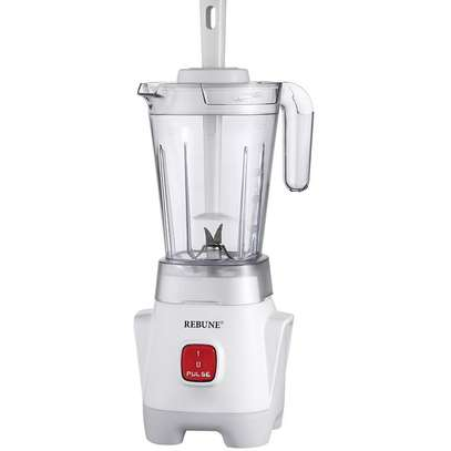 2in1 Blender 1.25l With Grinding Machine 50G - White image 2