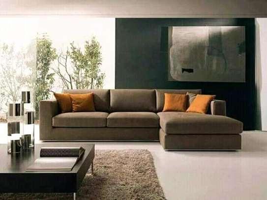6-seater L shaped sofa image 1