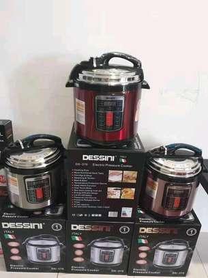 6 litres Dessin electric pressure cooker image 1