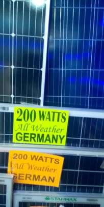 Starmax All Weather Solarpanel 200watts image 2