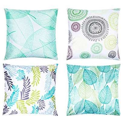 Decorative Unique Throw Pillow Case Cushion Covers a set of 4 pieces at Ksh. 3200 image 1