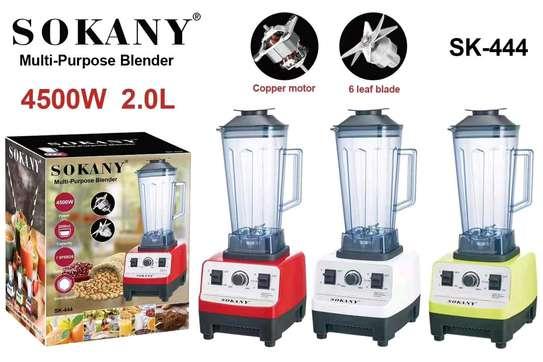 Sokany commercial blender image 1