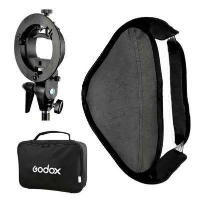 GODOX Softbox 80X80cm Folding Softbox 32 Inch Speedlight image 1