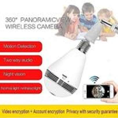 FULL HD WIFI NANNY BULB CCTV + 32GB SD CARD image 3