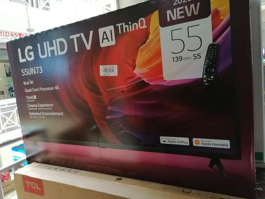 Brand new 55 inch LG smart uhd 4k led TV