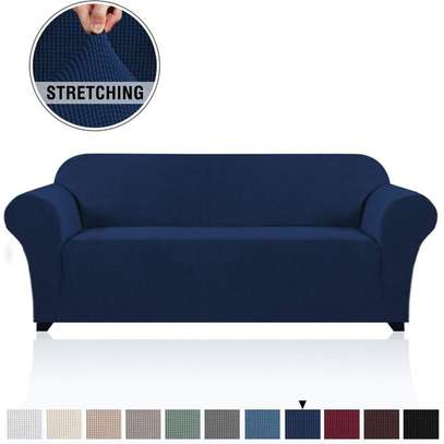 Strechable Sofa Seat Cover 2 Seater image 1