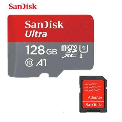 SANDISK 128GB MICRO SD CARD image 1