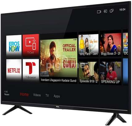 TCL 40 inch Smart Full HD Android LED TV – Frameless 40S65A image 1