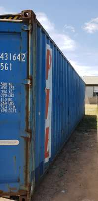 Empty 40ft shipping containers for sale image 1