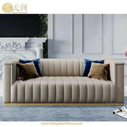 Latest three seater sofa/Sofas and couches kenya/Best Furniture stores in Nairobi Kenya image 1
