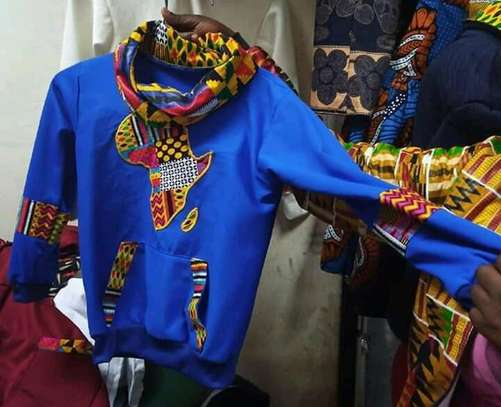 Africa designed hoods and T-shirts. image 11