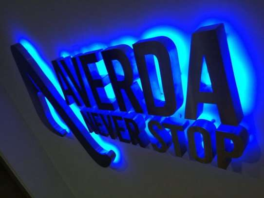 Illuminated 3d signs and 2dsigns image 2