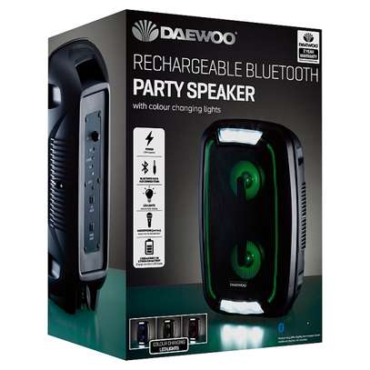 Daewoo LED Bluetooth Party Speaker image 2