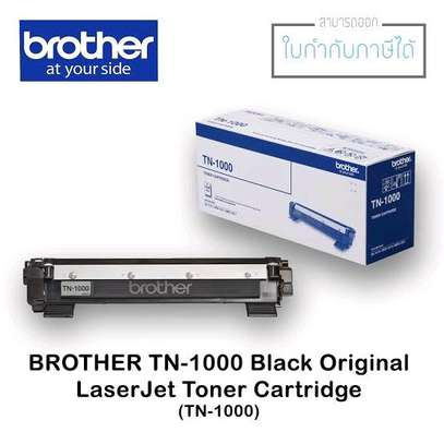 Brother TN-1000 Black Toner Cartridge Refills image 1