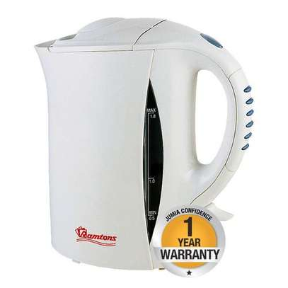Ramtons RM/264-Corded Kettle 1.8LTS- White.