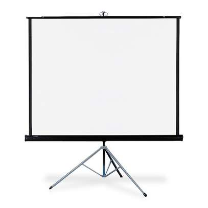 Tripod Projection Screen, 60x60 Inches image 2