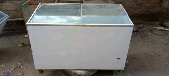 Chest freezer  on 4 fit on sale image 1