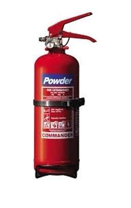 fire extinguisher and fire alarms image 1