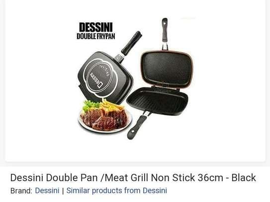 Dessini Double pan Grill Non-Stick image 1