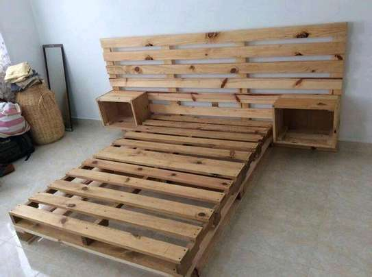 4 by 6 Pallet bed image 1