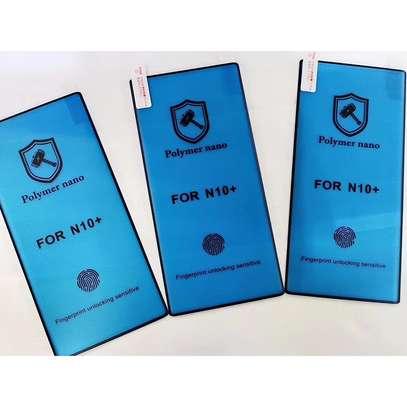 Ceramic 5D Full Glue Glass Protector Flexible Anti-Break,Anti-Fingerprint for Samsung Note/Note 10 Plus image 5