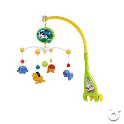 Superior 2 in 1 Dreamful Rotate baby Bed Ring & Animals Rattles Toys Set and shakers image 2
