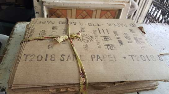 Wooden sandpapers to clear (Read Info) image 2
