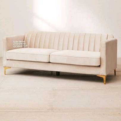 Three seater sofa/modern sofa image 1