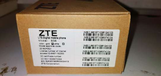 ZTE S36 4G Smartphone 2GB+16GB 2000mAh Camera 2.0MP+5.0MP 1.5GHz Quad-Core Android image 4