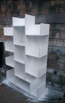 Wooden bookshelves image 3