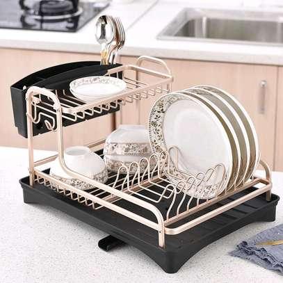 Dish rack gold image 1