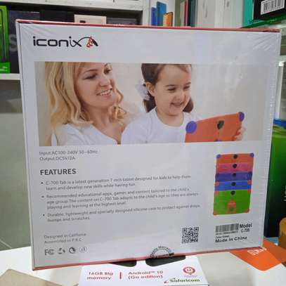 Iconix Kids Tablets 8gb(wifi support) New Sealed+Delivery Services image 1