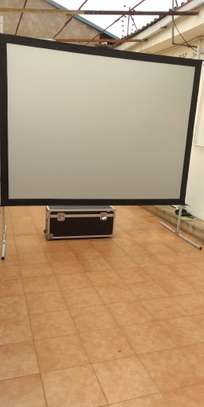 """Rear Projection Screen for Hire (72"""" by 96"""") image 1"""