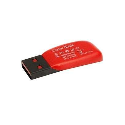 Sandisk Flash Disk Drive - 64GB - Red & Black image 1