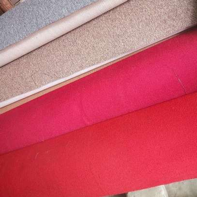 interior VIP red carpet wall to wall   10mm thick image 3