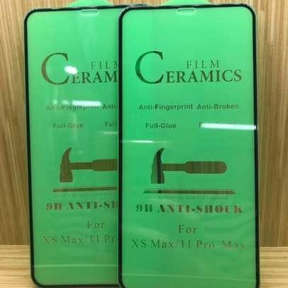 Ceramic 5D Full Glue Glass Protector Flexible Anti-Break,Anti-Fingerprint for iPhone 11 Pro Max image 2