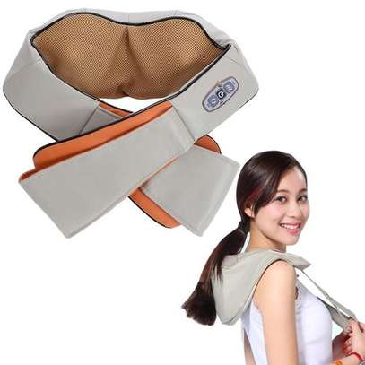 Electric Kneading Neck Shoulder Body Massager With Heat Health Care image 1
