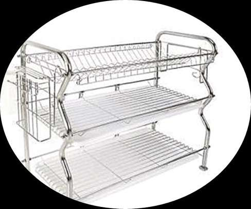 Stainless Steel Space Saver Dish Drainer